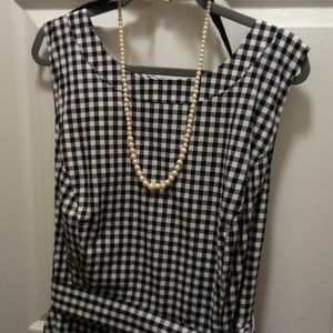 Jessica Howard gingham dress 24W